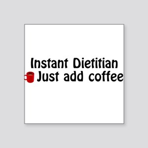 Dietitian Square Sticker
