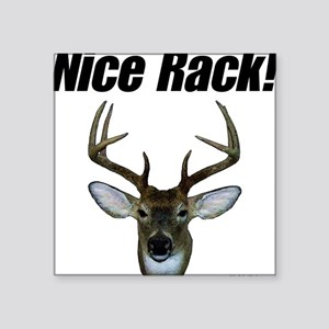 Nice Rack Square Sticker