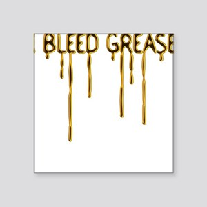 Dripping Grease Square Sticker