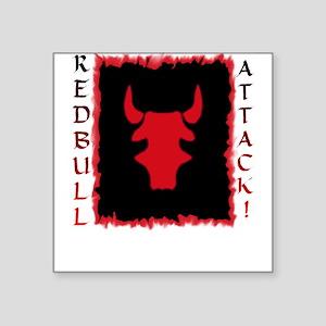 Redbull A Square Sticker