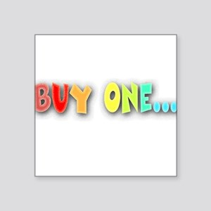 Buy One... Creeper Square Sticker