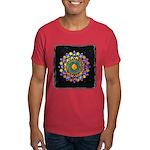 Vesica Piscis Flower Dark T-Shirt