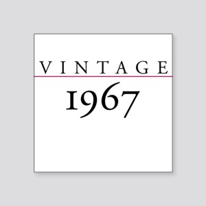 Vintage 1967 Square Sticker