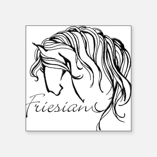 Friesian Square Sticker