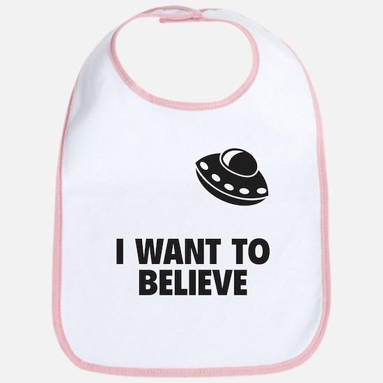 I Want To Believe Bib