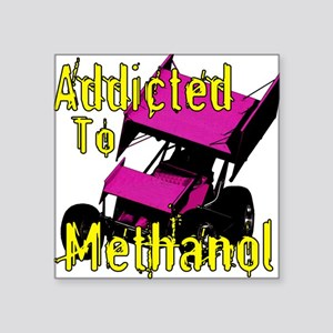 Addicted to Methanol Square Sticker