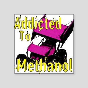 Addicted to Methanol Square Sticker