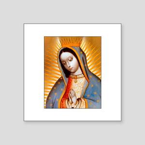 Virgen de Guadalupe - Patrone Square Sticker