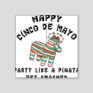 Funny Cinco de Mayo Square Sticker