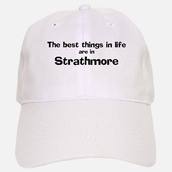 Strathmore: Best Things Baseball Baseball Cap