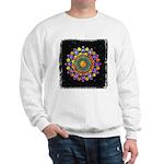 Vesica Piscis Flower Sweatshirt