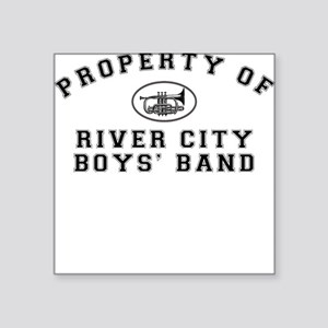River City Boys' Band Square Sticker
