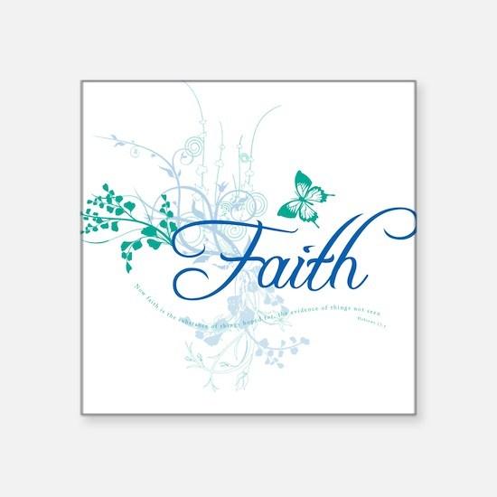 Faith Square Sticker