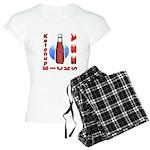 Ketchup Kicks Ass Women's Light Pajamas