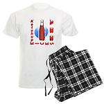 Ketchup Kicks Ass Men's Light Pajamas
