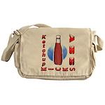 Ketchup Kicks Ass Messenger Bag