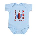 Ketchup Kicks Ass Infant Bodysuit