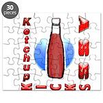 Ketchup Kicks Ass Puzzle