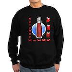 Ketchup Kicks Ass Sweatshirt (dark)