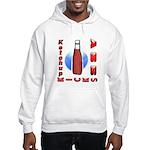 Ketchup Kicks Ass Hooded Sweatshirt