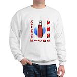 Ketchup Kicks Ass Sweatshirt