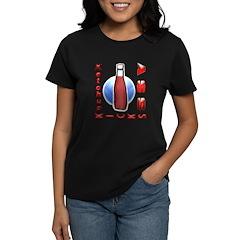 Ketchup Kicks Ass Women's Dark T-Shirt
