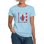 Ketchup Kicks Ass Women's Light T-Shirt