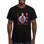 Ketchup Kicks Ass Men's Fitted T-Shirt (dark)