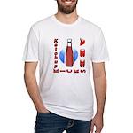 Ketchup Kicks Ass Fitted T-Shirt