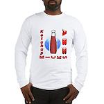 Ketchup Kicks Ass Long Sleeve T-Shirt