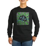 Dimensional Gate Long Sleeve Dark T-Shirt