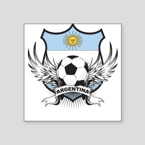Argentina world cup soccer Square Sticker