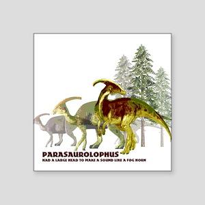 Parasaurolophus Square Sticker