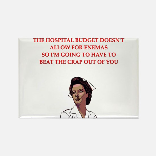 NURSE.png Rectangle Magnet