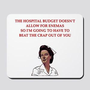 NURSE Mousepad