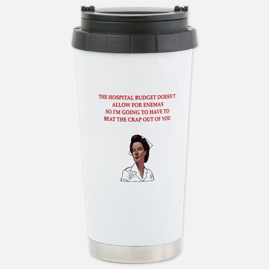 NURSE.png Stainless Steel Travel Mug