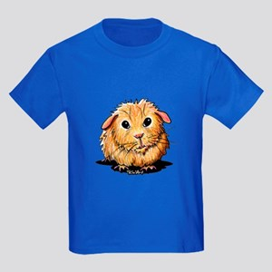Golden Guinea Pig Kids Dark T-Shirt