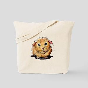 Golden Guinea Pig Tote Bag