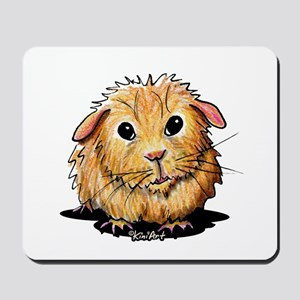 Golden Guinea Pig Mousepad