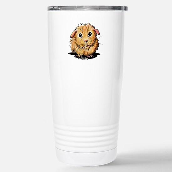 Golden Guinea Pig Stainless Steel Travel Mug