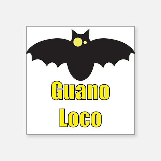 Guano Loco Kids Clothes Square Sticker
