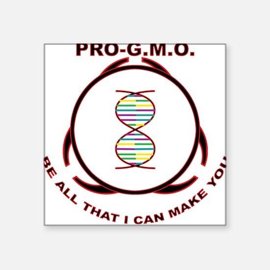 Pro-GMO Square Sticker