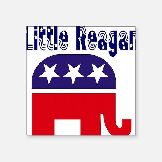 Little Reagan Square Sticker