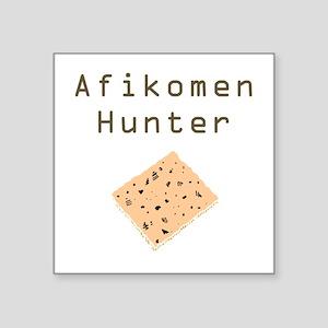 Afikomen Hunter Square Sticker