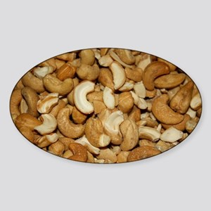 Cashew Nuts cashew Sticker (Oval)