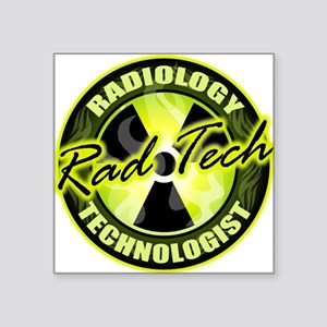 Radiology Technologist Square Sticker