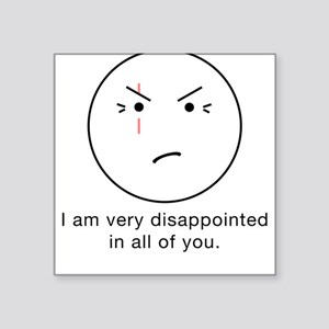 LOST Disappointed - Square Sticker