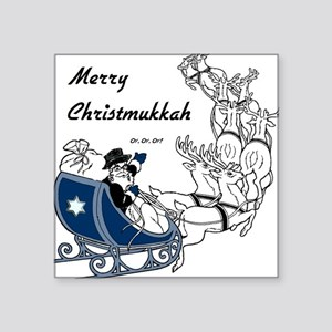 Merry Christmukkah Square Sticker