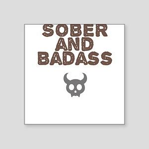 Badass Square Stickers Square Sticker