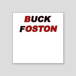 Buck Foston Square Sticker
